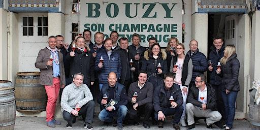 Dégustation des Bouzy Rouge et Champagnes Rosés 2020
