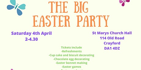 THE BIG EASTER PARTY 2020 tickets