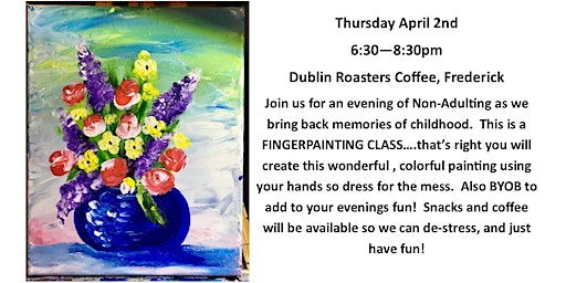 FINGER PAINTING FOR ADULTS
