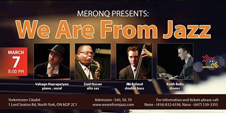 WE ARE FROM JAZZ! tickets