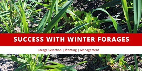 Success with Winter Forages tickets