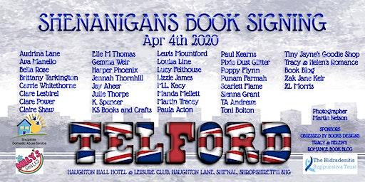 Shenanigans In Telford Book Signing