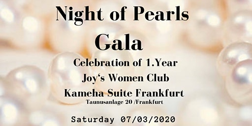 Joy's Women Club Gala Dinner in der Kameha Suite zum Weltfrauentag