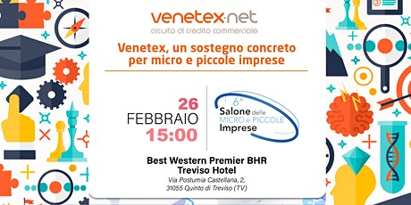 Venetex, un sostegno concreto per micro e piccole imprese biglietti