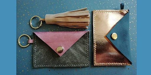 Make A Leather Card Holder and Keyring