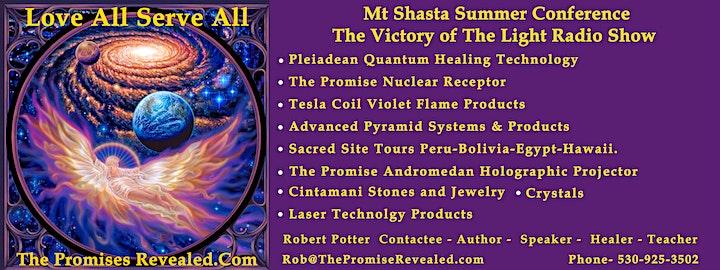 Meet The Venusians Mt Shasta Summer Conference 2020 image