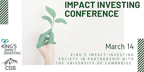 Impact Investing Conference 2020 tickets