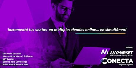 Charla: Incrementá tus ventas en múltiples tiendas online… en simultáneo! entradas