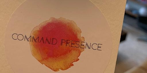 Command Presence: Confidence Workshop for Women Veterans