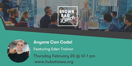 Brown Bag Lunch: Anyone Can Code tickets