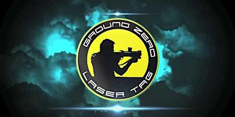 Jeu de poursuite laser / Ground Zero Laser Tag tickets