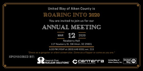 2019 Annual Meeting and Awards Ceremony tickets