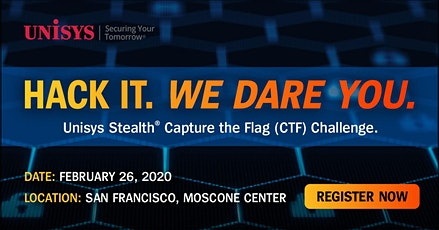 Unisys Stealth: Capture The Flag Challenge tickets