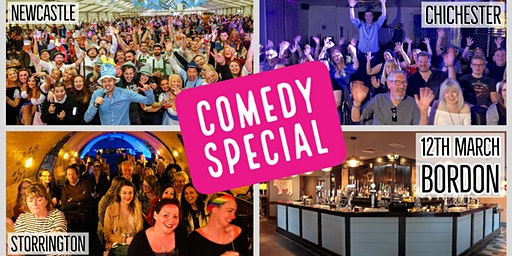 Comedy Special at The Woodlark! (Bordon)