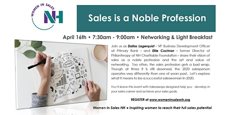 Sales is a Noble Profession tickets