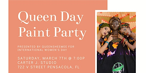 Queen Day Paint Party