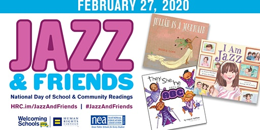 Jazz & Friends - National Day of School and Community Readings