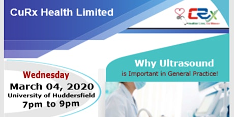 CuRx Health CPD Event - Huddersfield tickets