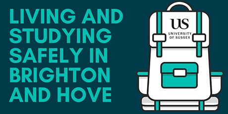 Living and studying safely in Brighton and Hove tickets