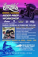 Beautiful Bikers Spring/Summer Rider Prep Workshop - California