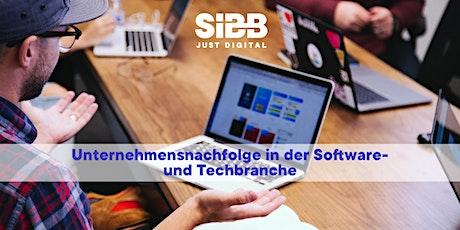 Unternehmensnachfolge in der Software- und Techbranche Tickets