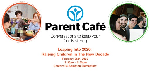 Parent Cafe - Leaping Into 2020:  Raising Children In The New Decade