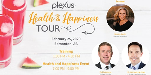 Health and Happiness Tour Training - Edmonton, AB