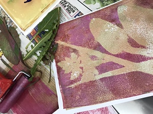 Gelli printing and monotype workshop tickets