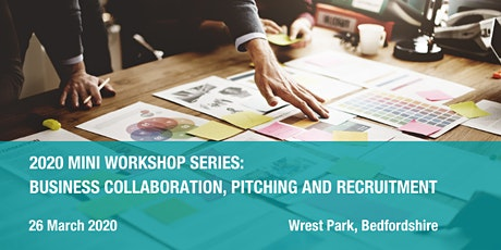 2020 Mini workshop series: business collaboration, pitching and recruitment tickets