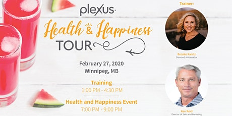 Health and Happiness Tour Training - Winnipeg, MB tickets