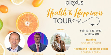 Health and Happiness Tour Training - Hamilton, ON tickets