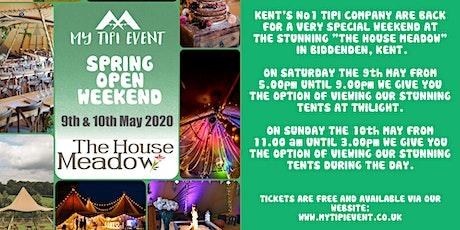 MyTipiEvent Spring Open Weekend tickets