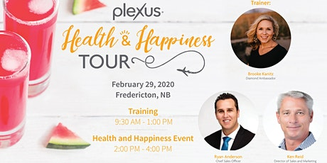 Health and Happiness Tour Training - Fredericton, NB tickets