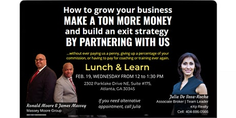 Lunch and Learn on February 19, 2020 tickets