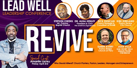 2020 Lead Well Conference tickets