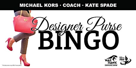 Offutt Designer Purse Bingo tickets