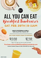 All You Can Eat Breakfast Fundraiser