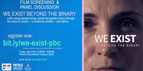 (CANCELLED UNTIL FURTHER NOTICE) Film Screening We Exist: Beyond the Binary tickets