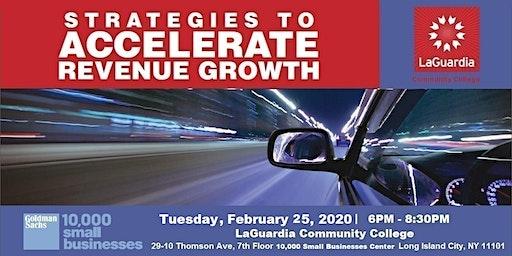 Strategies to Accelerate Revenue Growth @LaGuardia
