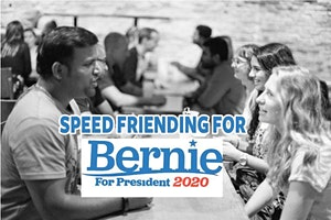 Speed Friending For MN Bernie Sanders Supporters
