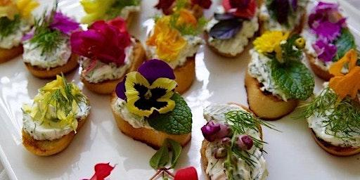 Edible Flower Class
