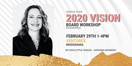 DESIGN YOUR 2020 VISION  - WORKSHOP EN ESPAÑOL entradas