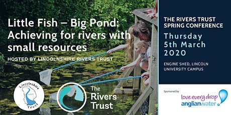 Little Fish - Big Pond: Achieving for rivers with small resources tickets