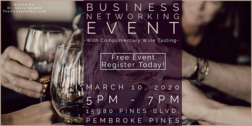 Business Networking Event with Complimentary Wine Tasting