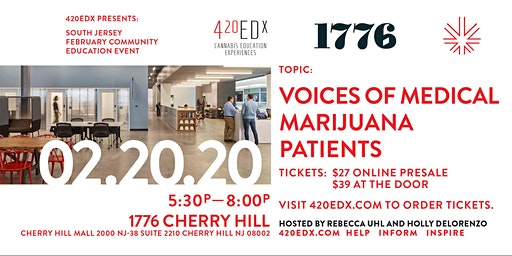 420EDx South Jersey: February Community Education Event
