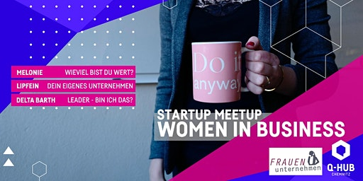 Startup Meetup: Women in Business