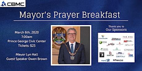 Prince George Mayor's Prayer Breakfast 2020 tickets