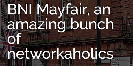BNI Mayfair Visitors' Day tickets