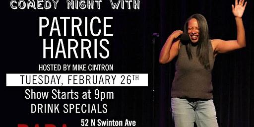 Comedy Night with headliner Patrice Harris
