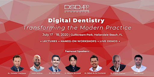 "DSDApp Symposium ""Digital Dentistry - Transforming the Modern Practice."""